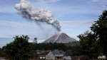 Mt. Sinabung Erupts Nine Times in Two Days