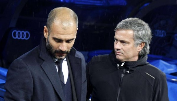 Man City  Vs MU, Guardiola Janji Jabat Tangan Mourinho