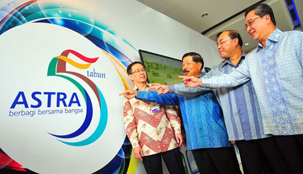 Astra Named Indonesia's Most Admired Company