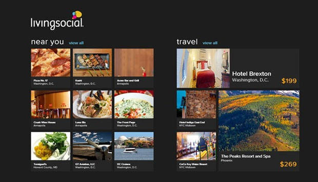 Aplikasi LivingSocial Hadir di Windows Phone 8