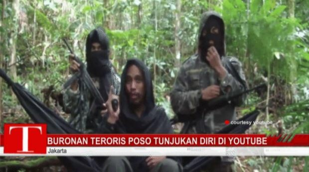 YouTube Airs Footage of Poso Terorrists' Call for Jihad