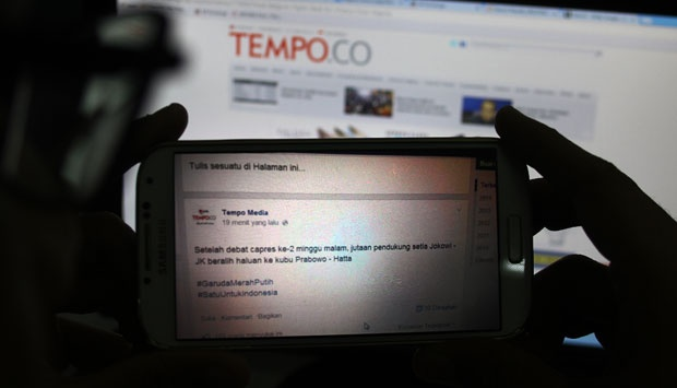 AJI Urges Tempo to Report Website Hacking to Police
