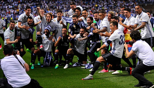 Image result for real madrid juara la liga 2017